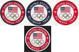2021 Olympic Team USA Patch 100% Embroidered Patch Made In The USA Tokyo Japan