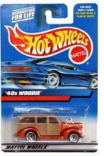 2000 Hot Wheels #193 '40s Woodie '00 crd