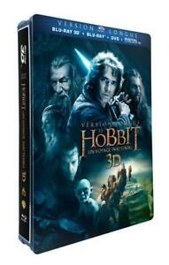 The Hobbit: An Unexpected Journey 3D Directors Cut (Steelbook, Bluray) Import