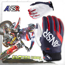 GUANTO CROSS ENDURO ANSWER SYNCRON 2017 WHITE RED BLUE TAGLIA S