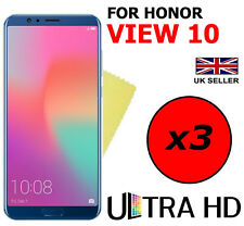 3x ULTRA HD CLEAR SCREEN PROTECTOR COVER FILM GUARD FOR HONOR VIEW 10