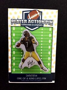 Pittsburgh Steelers Ben Roethlisberger jersey lapel pin-Classic BEN Collectible