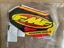 New FMF Powercore 4 V2 Exhaust Silencer Aluminium Decals / Stickers Motocross MX