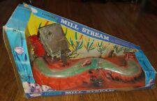 Vintage 1972 Penn Plax Flowing Mill Stream plus Revolving Mill Wheel