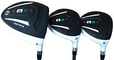 New Taylor Fit Heater B2 graphite senior complete 10.5 driver, 3,5 golf wood set
