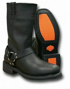 Mens Harley Davidson HUSTIN Riding Waterproof Riding Biker Boots Size Uk 7 41