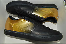 New Nike Mens Blazer Low SP Pedro Lourenco Shoes Black/Gold 718798-008 sz 6.5