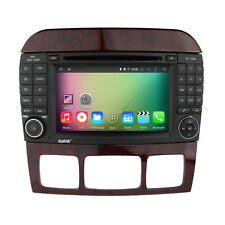 For Mercede Benz S430 S500 S320 CL500  Android 5.1 Radio DVD GPS Navigation