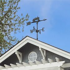 "30"" Tractor Accent Weathervane - Black"