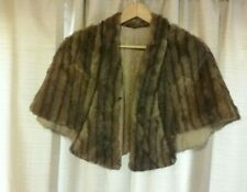 Womens Fur Cape Stohl, Vintage, Lined