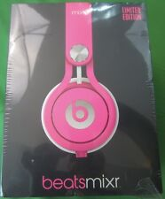 BRAND NEW SEALED LIMITED EDITION BEATS Mixr Dr Dre Headphones Pink Guetta DJ