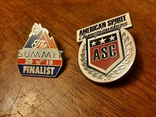 Cheerleading Competition Pins - Summit Finalist ASC American Spirit Championship