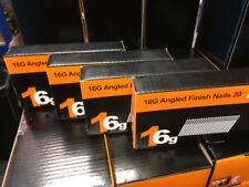 2000 xmixedangled 16 G CLOUS DEWALT DC618KB & DCN660 (500 eachsize) 32,38,45, & 64 mm