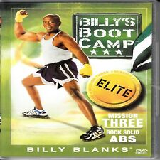 D5 Billy Boot Camp : Mission Three Rock Solid ABS Billy Blanks DVD