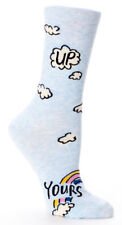 Blue Q Women's - Up Yours - Crew Sock