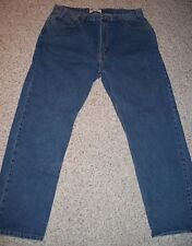 Levis Strauss Signature Size 38 X 32 Regular Fit Blue Jeans