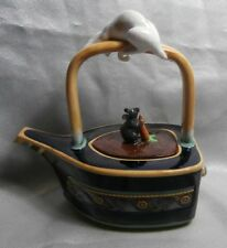 MINTON ARCHIVE COLLECTION CAT & MOUSE TEAPOT NEW MINT BOXED 68/2500 LTD EDITION