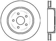 Disc Brake Rotor-SRT8 Rear Left Stoptech fits 2006 Jeep Grand Cherokee