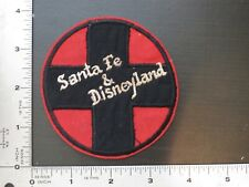 New listing patch , Santa Fe Railroad And Disneyland ,View Pictures , Patch , Sold As Is