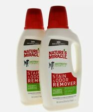 Nature's Miracle Dog Stain and Odor Remover 32oz ~ 2 Pack ~ Free Shipping