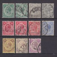 NYASALAND 1913, SG# 83-92, CV £49, Part set, USED