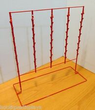 Counter Chip and Snack Display Rack - 5 Strip 65 Clip (Red)