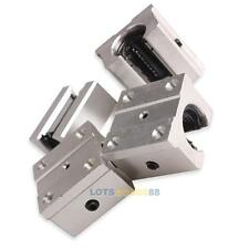 Pack of 4 SBR16UU 16mm Aluminum Linear Router Motion Bearing Solide Block Shaft