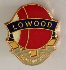 Lowood Memorial Bowling Club Badge Rare Vintage (K3)