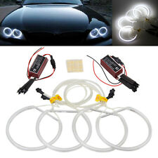 4x Car CCFL White LED Light Angel Eyes Halo Rings for BMW E36 E38 E39 3 5 Series