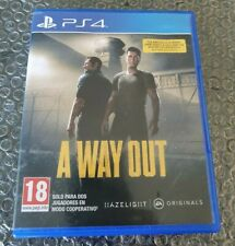 A Way Out - PS4 - Game Disc Version - physical limited Edition - ultra rare
