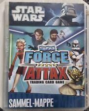 Star Wars Force Attax Serie 1 Sammelmappe vollständig
