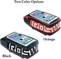 ROSWHEEL Bike Front Frame Bag,Cycling Top Tube,Phone Bag ,Bicycle Pouch,BIKE BAG
