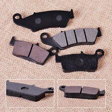 4x Front & Rear Brake Pads For Honda CR250R Kawasaki KX125 Suzuki DR-Z400E RM125