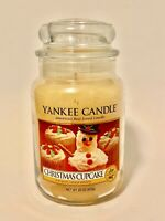 Yankee Candle Large Jar 22 oz Christmas Cupcake Candle