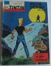 JOURNAL TINTIN N°768 ROCK DERBY REVIENT  1963 BON ETAT