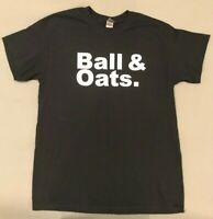 Ball & Oats T-shirt University of Alabama Crimson Tide Basketball - Med Large XL