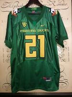 2011 Oregon DUCKS Nike Team Sewn FOOTBALL JERSEY James #21 MEN'S 50