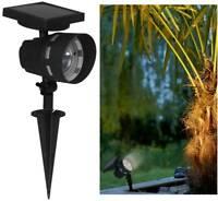 Luxform Lighting La Roche Garden Outdoor Solar LED High Lumen Spike Post Light
