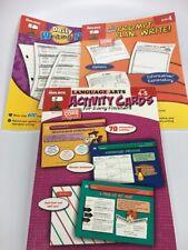 Mailbox Educational Workbooks Lot Of 3 Grades 4-6 Writing Prompts Language Arts
