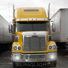 Freightliner Coronado Blue Halo Fog Lamps Angel Eye Driving Lights Kit