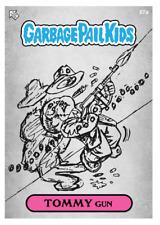 RARE Topps WAX Garbage Pail Kids DIGITAL John Pound - TOMMY Gun 57a Sketch