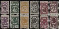 Luogotenenza - 1946 - Pacchi Postali - Sassone nn.60/65 - nuovi - MNH