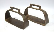 Vintage Indian Art Horse / camel Pedal Feet Rest Stirrup Farm Décor. G42-170 US