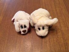 Vintage Newborn Pound Puppies Mini Plush - Lot of 2