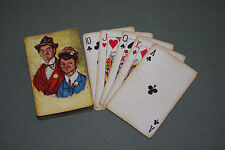 """The Gay Philosopher"" & His Son Junior Vintage Playing Cards"