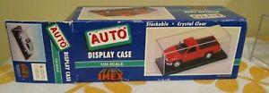 Imex Auto Display Case 1/24 Scale New Open Box.