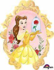 Party Supplies Girls Birthday Disney Beauty & The Beast Belle Shape Foil Balloon