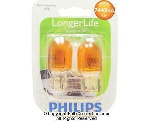 NEW Philips BC9623 7440 NA Automotive 2-Pack 7440NALLB2 Bulb