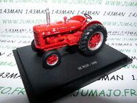 TR20W Tracteur 1/43 universal Hobbies n° 120 McCORMICK IH WD9 1949