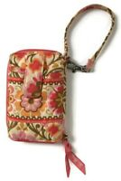 Vera Bradley Folkloric Carry It All Wallet Wristlet Retired Coral Floral